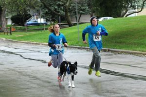 Kids Running w/ Dog